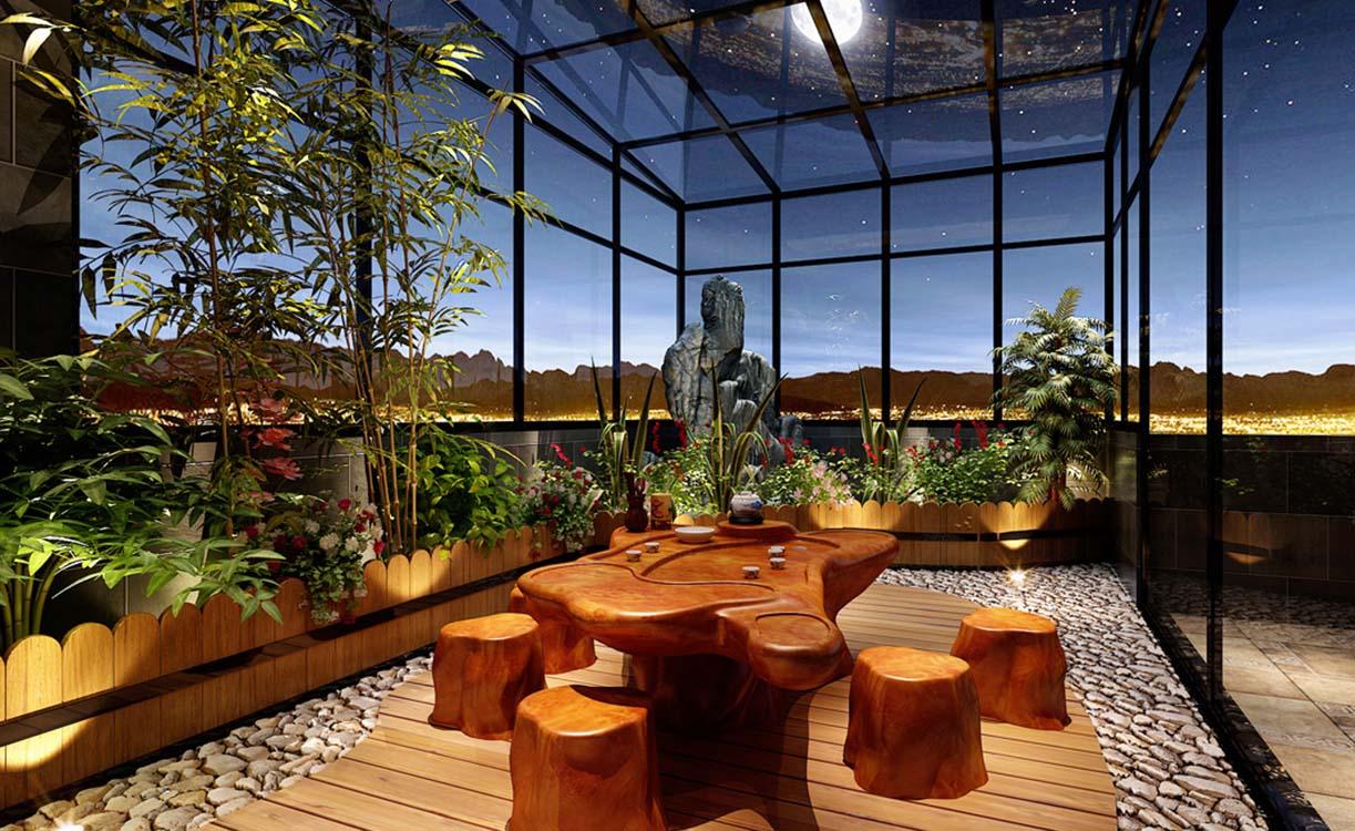 別墅裝修中陽光房的預算你了解嗎?