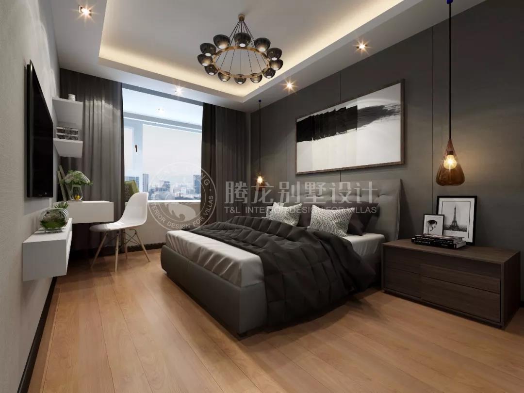 新中式别墅装修效果图      本案为新中式风格,设计师在传统和经典