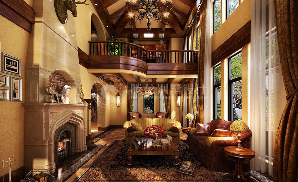观庭美式别墅装修效果图