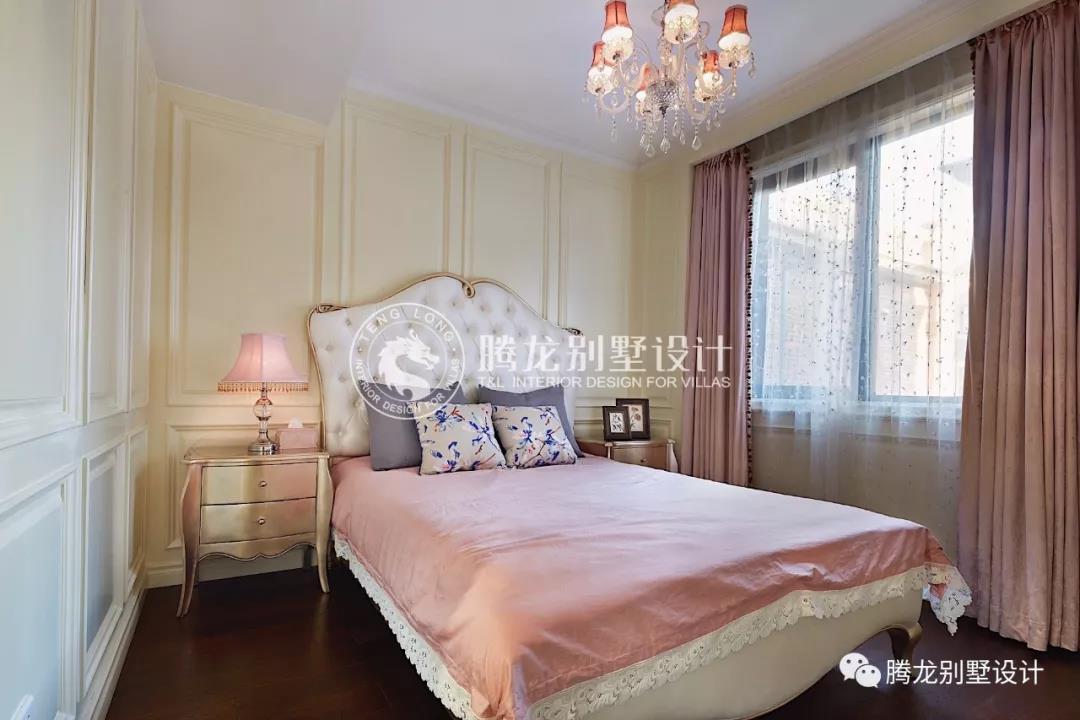 首页 了解腾龙 腾龙资讯 远洋鸿郡欧式别墅装修效果图     女儿房与