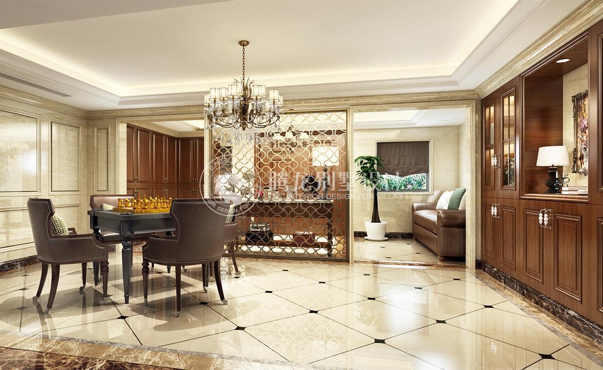 地面    一般中式装修中,地面是以铺地板或地砖为主,但是在欧式客厅
