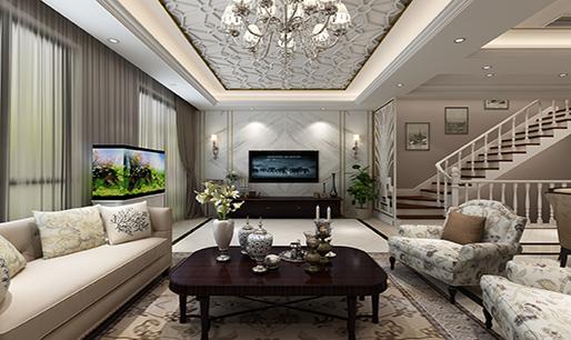 上海别墅装修复式别墅装修设计